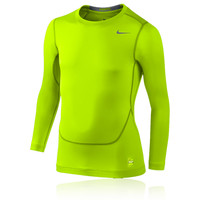 Nike Pro Core Junior Crew Long Sleeve Compression Running Top