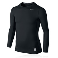 Nike Pro Hyperwarm Junior Long Sleeve Compression Running Top