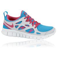 Nike Junior Free Run 2.0 (GS) Girls Running Shoes