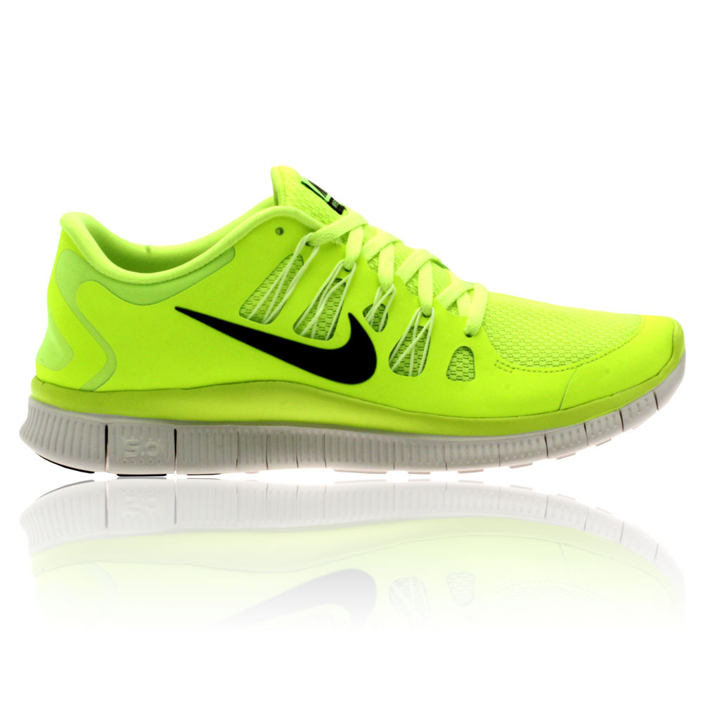 nike free run 5.0 fluorescent yellow highlighter