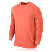 Nike Dri-Fit Feather Fleece Long Sleeve Top