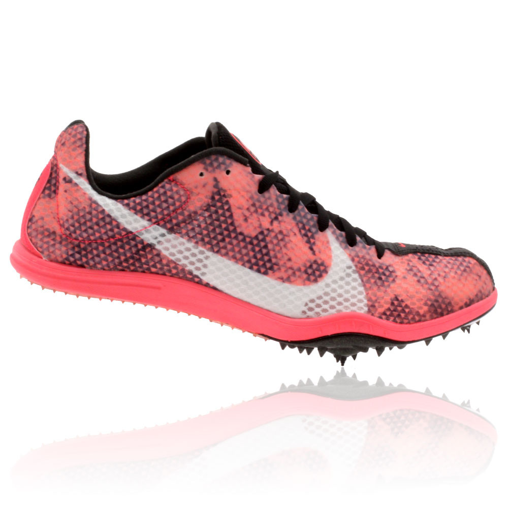 nike zoom w 4 s middle distance running spikes