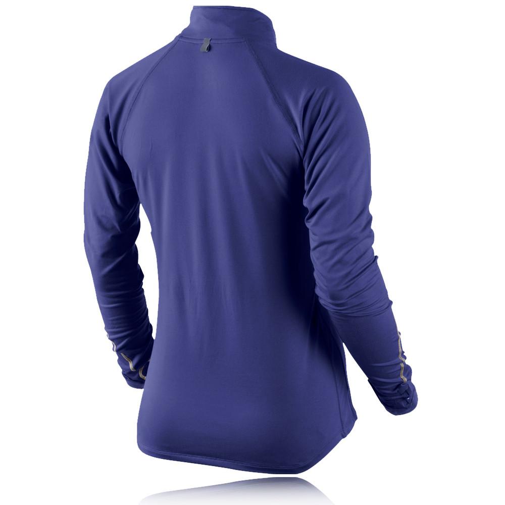 Nike Element Women 39 S Half Zip Long Sleeve Running Top