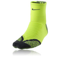 Nike Elite Cushion Mid Height Running Socks