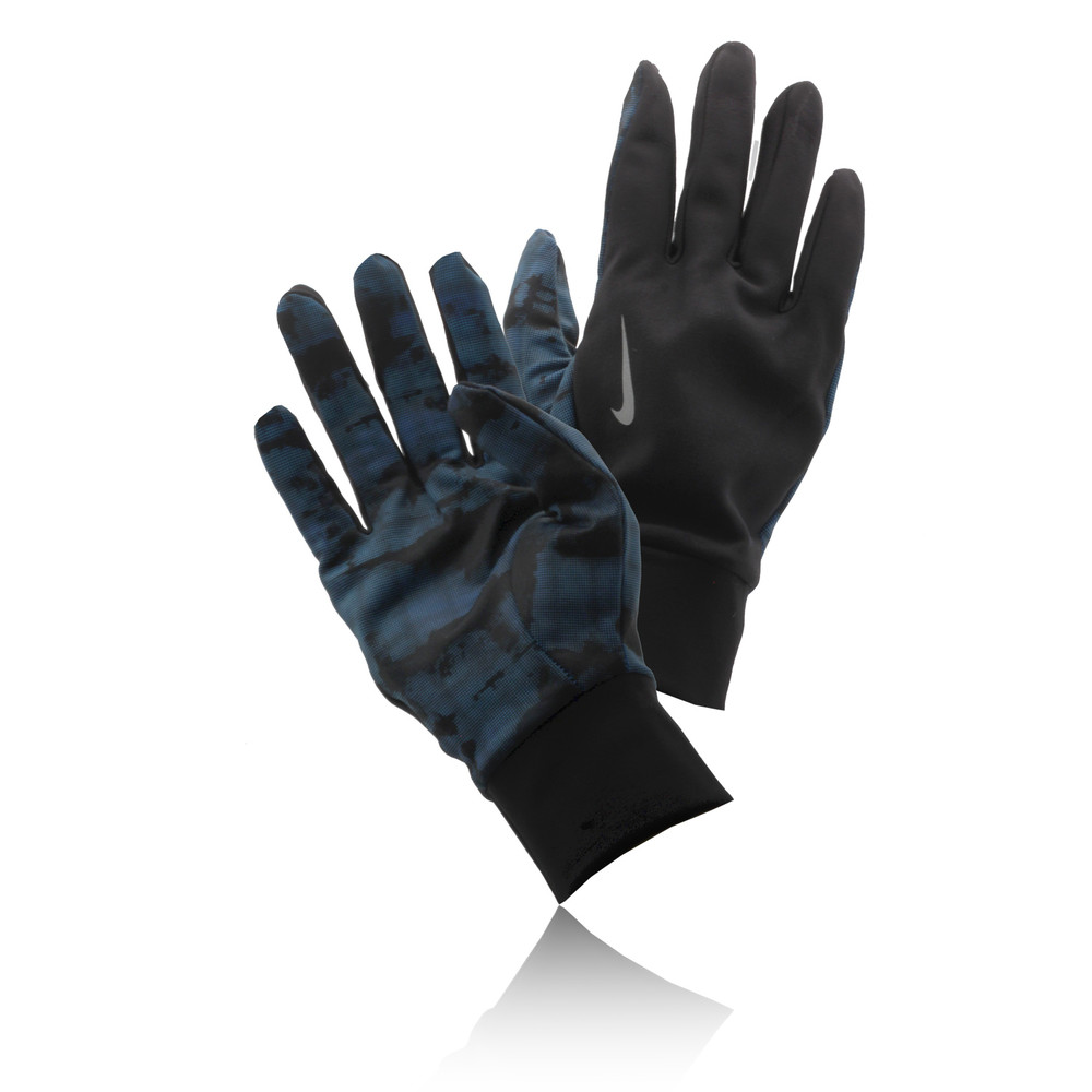 Nike Thermal Gloves: Nike Thermal NYC Camo Running Gloves