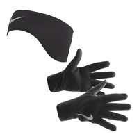 Nike Thermal Headband And Glove Women's Running Set
