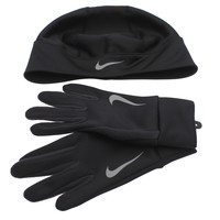 Nike Dri-FIT Thermal Running Hat and Gloves Set