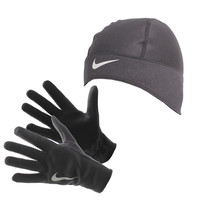 Nike Dri-FIT Thermal Women's Running Hat and Gloves Set