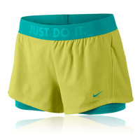 Nike Circuit 2-In-1 Women's Woven Running Shorts - SU14