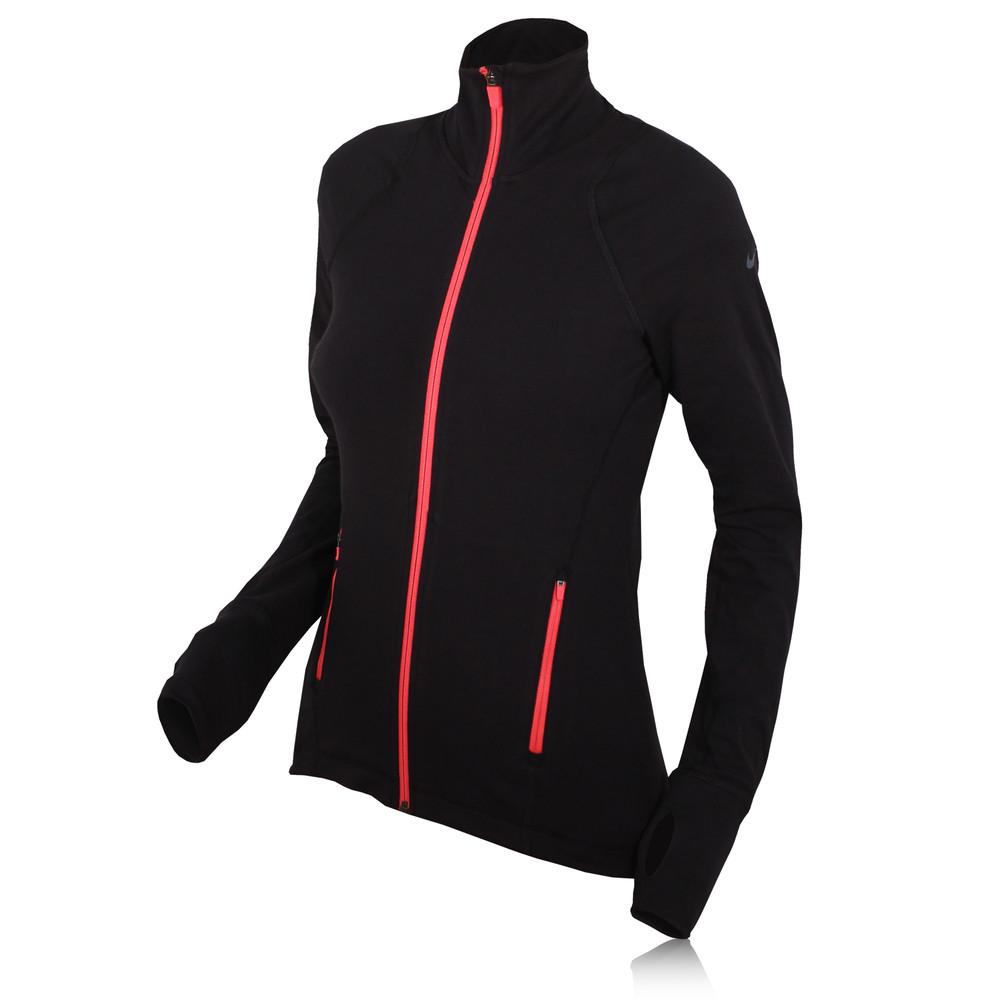 Nike Dri-Fit Women's Cotton Full Zip Running Jacket - SU14