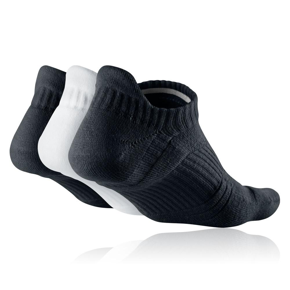 nike dri fit lightweight 3 pack women 39 s running socks. Black Bedroom Furniture Sets. Home Design Ideas