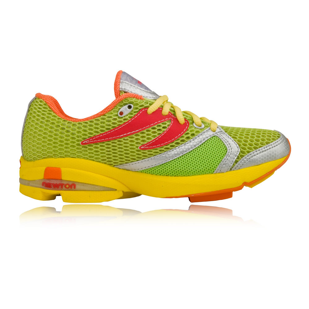 newton distance womens green cushioned running trainers