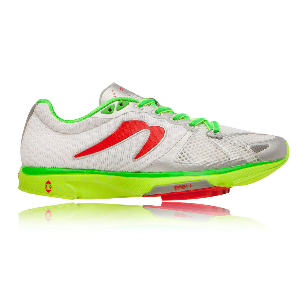 newton distance s iv womens white running sports sneakers