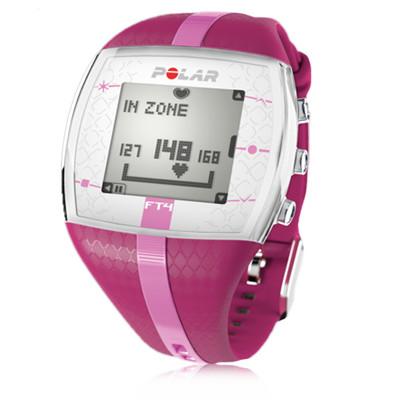 polar ft4f womens pink rate sports running digital