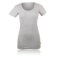 Pure Lime Lady Ribbed Running T-Shirt