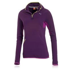 Puma PR Pure Core Women&39s HalfZip Long Sleeve Hooded Running Top