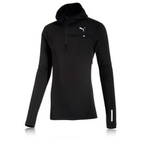 Puma PR Core Half Zip Long Sleeve Hooded Running Top