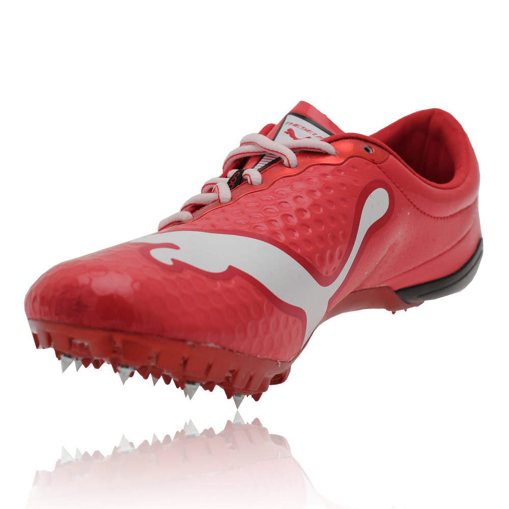 Puma Mens Womens Complete Theseus Pro Red Track And Field Running ...