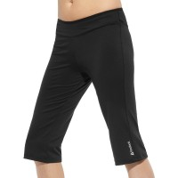 Reebok Lady Fitness Delta Slim Capri Workout Pants