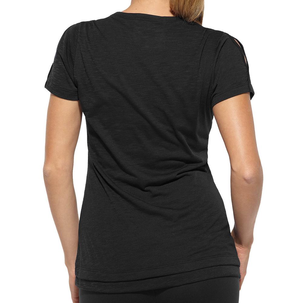 Reebok Lady Shapewear Lux Double Layer Short Sleeve T-Shirt