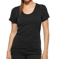 Reebok Lady Shapewear Lux Double Layer Short Sleeve T-Shirt