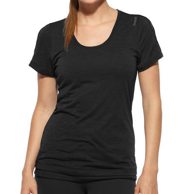 Reebok Lady Shapewear Lux Double Layer Short Sleeve T-Shirt picture 1
