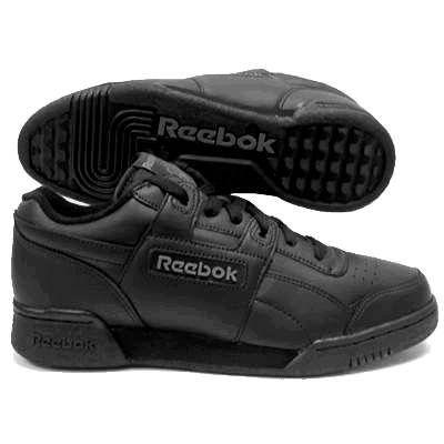 reebok mens workout plus black cross athletic