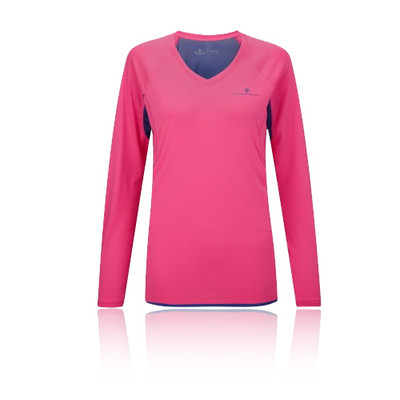 Ronhill Vizion Women's Long Sleeve Running Top picture 1