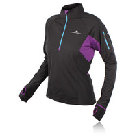 Ronhill Trail Cyclone Women's Half Zip Long Sleeve Running Top