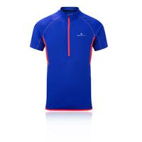 Ronhill Advance Short Sleeve Half Zip Top