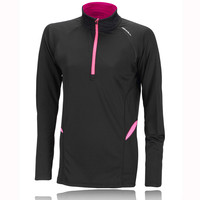 Ronhill Lady Vizion Reactive Half Zip Running Top
