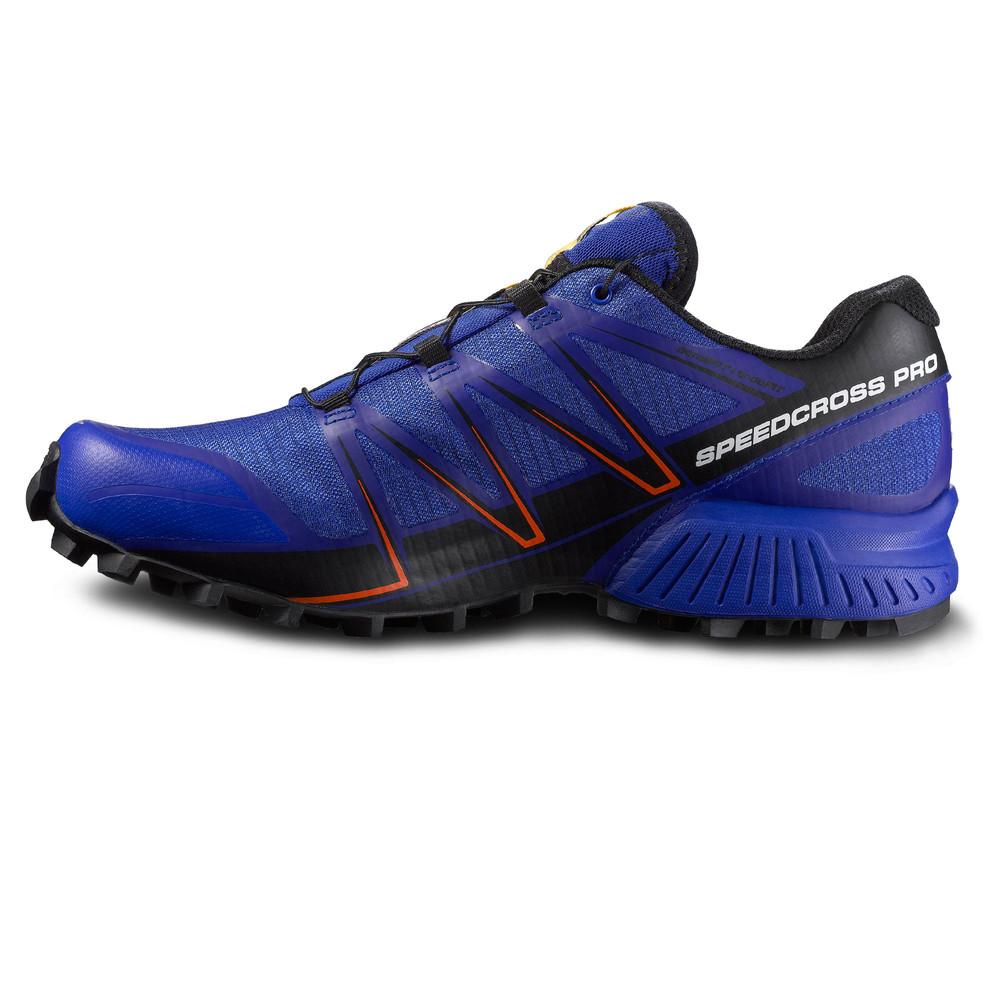 salomon speedcross pro mens blue waterproof running sports