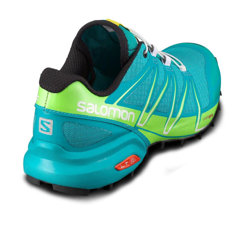 salomon speedcross pro womens blue waterproof running