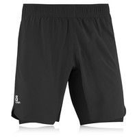 Salomon Endurance Twin Skin Running Shorts