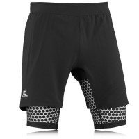 Salomon S-Lab Exo Compression Wings Twinskin Running Shorts