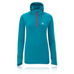 Salomon Swift Midlayer Women&39s Long Sleeve Hooded Running Top