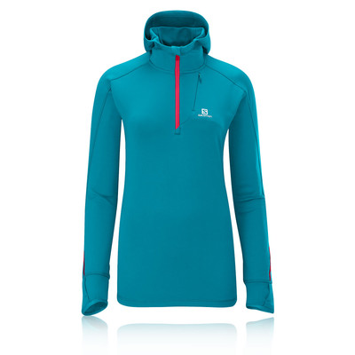 Salomon Swift Midlayer Women's Long Sleeve Hooded Running Top picture 1