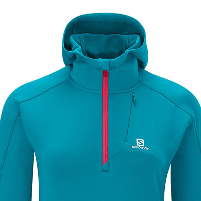 Salomon Swift Midlayer Women's Long Sleeve Hooded Running Top picture 2