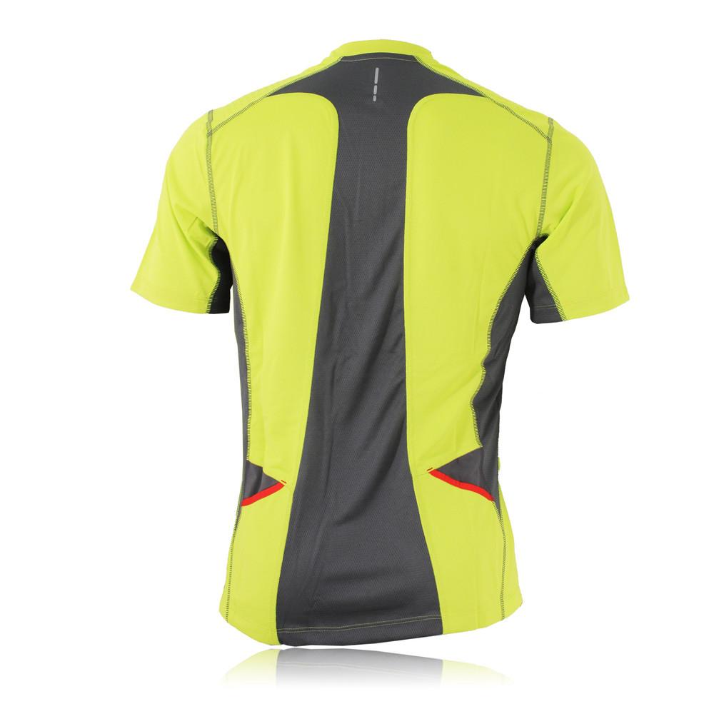 Salomon ultra trail half zip short sleeve running t shirt for Tech shirts running wholesale