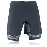 Salomon EXO Wings Twinskin Compression Running Shorts