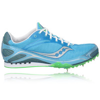 Saucony Lady Velocity 4 Middle Distance Running Spikes