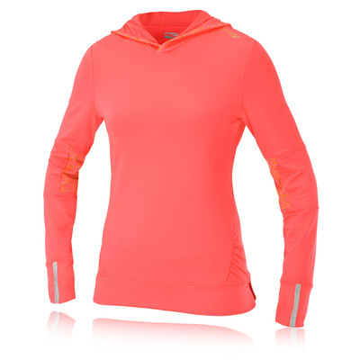 Saucony Ruched Women's Long Sleeve Hooded Running Top picture 1