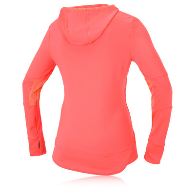 Saucony Ruched Women's Long Sleeve Hooded Running Top picture 2