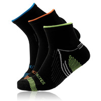 Saucony River 3 pack Quarter Anklet Socks