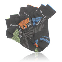 Saucony River Mid-Height Running Socks (3 Pack)