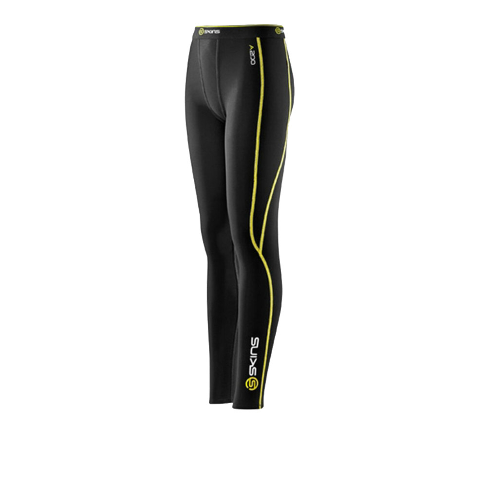 Skins Youth A200 Compression Running Tights - SS15