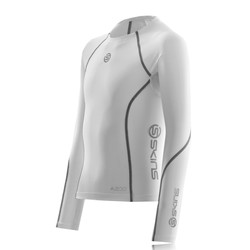 Skins Youth A200 Long Sleeve Compression Running Top