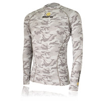 Skins Snow Long Sleeve Compression Running Top