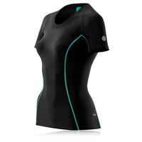 Skins A200 Women's Short Sleeve Compression Running T-Shirt