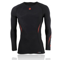 Skins A200 Long Sleeve Compression Running Top